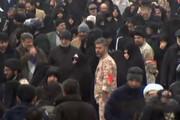 فیلم | بارش برف در هنگام نماز جمعه تهران به امامت آیتالله خامنهای