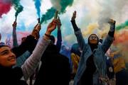 ببینید | تصویر رسانه آمریکایی از دختران محجبه عراقی درجشنواره رنگ های نجف