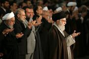 ببینید | اقامه نماز جمعه به امامت آیت الله خامنهای و حضور مقامات عالیرتبه و مردم