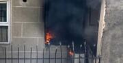 احتمال عمدی بودن آتشسوزی مسکن مهر سمنان وجود دارد
