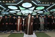 فیلم | نخستین مصاحبه لاریجانی و رئیسی بعد از نماز جمعه امروز به امامت رهبر انقلاب