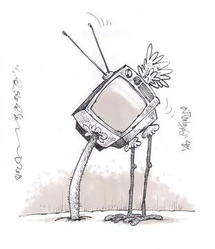 وضعیت این روزهای تلویزیون را ببینید!
