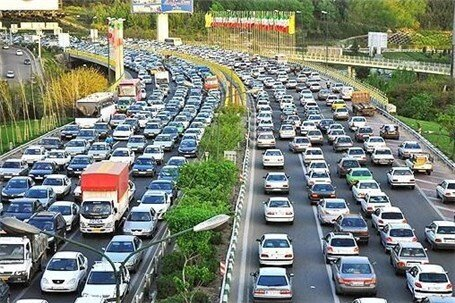 آخرین وضعیت ترافیکی معابر اطراف مصلی تهران/ ترافیک پرحجم است