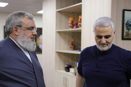 ماجرای آشنایی سردار سلیمانی و سیدحسن نصرالله /سفری مهم به لبنان زیر آتش و بمباران اسرائیل