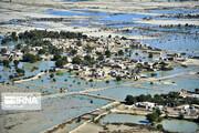 بازدید هوایی رییس جمهوری از مناطق سیلزده چابهار