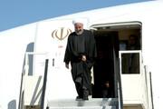 الرئيس روحاني يتفقد المناطق المنكوبة بالسيول في جابهار