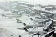 آخرین وضعیت پروازهای داخلی و خارجی در هوای برفی امروز