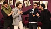 نخستین تصویر از پوریا پورسرخ و بازیگر ترکیهای در «شام ایرانی»