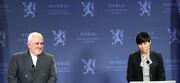 ظریف با همتای نروژی گفتوگو کرد