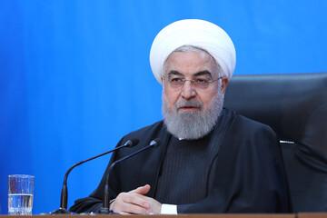 روحانی: وسیله نقلیه برجام مطمئن بود، جاده را خراب کردند