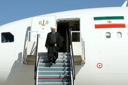 Rouhani on visit to southeastern Iran to oversee relief operations