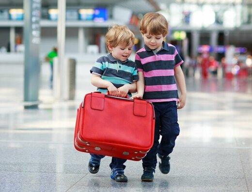 چطور با بچه به سفر برویم؟