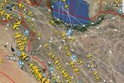 ببینید | بازگشت پروازهای عبوری به آسمان ایران
