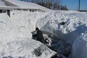 ببینید | تایملپسی دیدنی از بارش برف 2متری در کانادا