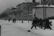 ببینید | اولین تصاویری که از برف در سینما پخش شد