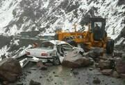 خطر ریزش سنگ در جاده های البرز پیش بینی می شود