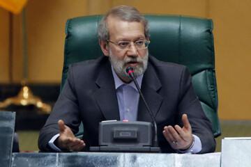 فیلم | واکنش علی لاریجانی به علت رد صلاحیت نمایندگان فعلی و ادوار مجلس
