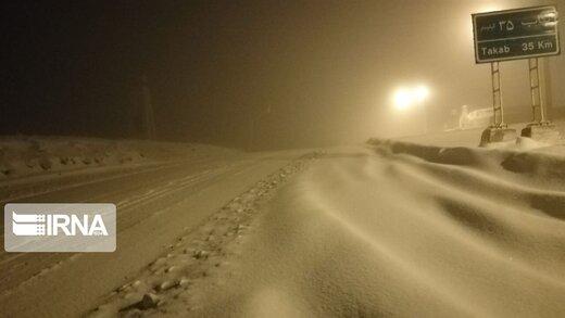 برف و کولاک در این ۱۰ استان