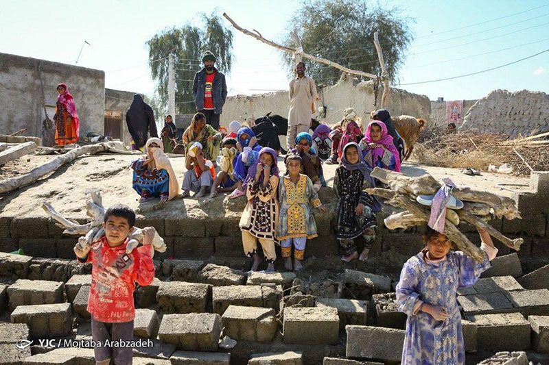 تصاویر | وضعیت کودکان سیل زده سیستان و بلوچستان