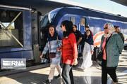 قطار رایگان گردشگری تبریز - جلفا روزانه ۸۰۰ نفر را جابجا میکند