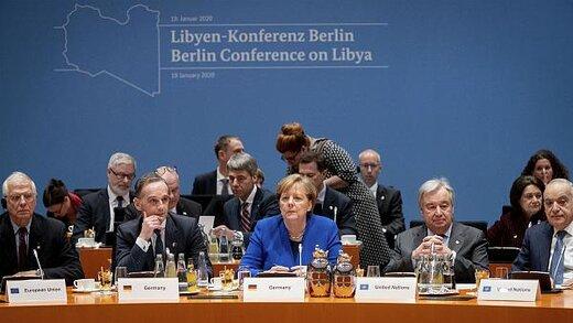 ادعای مرکل درباره کنفرانس برلین