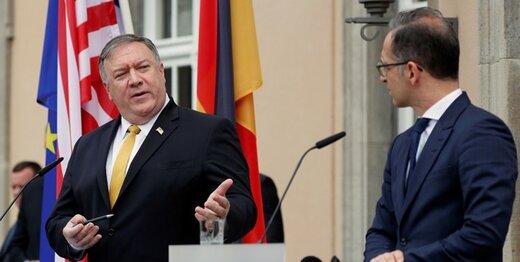 پمپئو و ماس درباره ایران گفتگو کردند