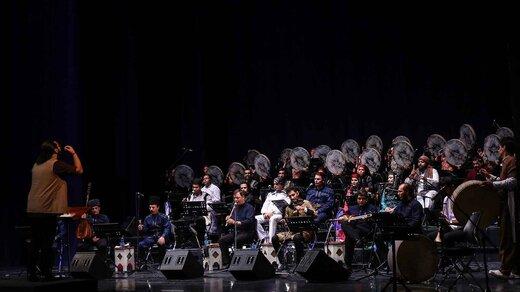 هیوا رنجبر، رهبر کنسرت موسیقی اقوام شد