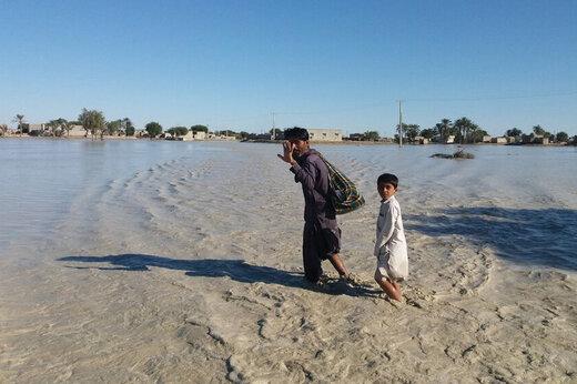 ببینید | ویدئوی اختصاصی خبرآنلاین از مناطق سیلزده سیستان و بلوچستان