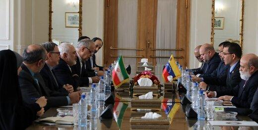 Iranian, Venezuelan FMs discuss issues