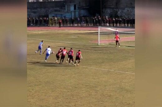 فیلم   اتفاقی جالب در یکی از بازی های لیگهای ترکیه