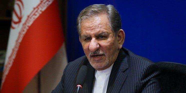 جهانگیری: آمریکاییهای ۲۲ بهمن ۹۷ در تهران باشند/ واکسیناسیون در کشور بدون تبعیض انجام خواهد/ هیچکس نمیتواند منکر شود که مردم در سختی هستند