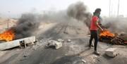 آشوب های عراق ادامه دارد؛یک میدان نفتی تعطیل شد