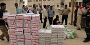 البرز در کمک به سیل زدگان کشور پیشرو است