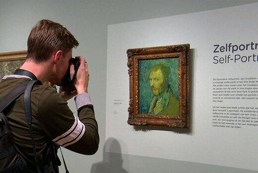 حراج چند میلیون دلاری نقاشی ونگوگ / عکس