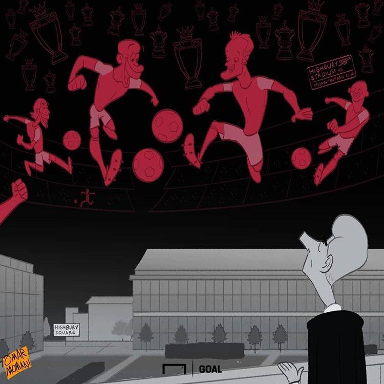 استادیومی که روح توپچیهای لندن در آن جا ماند!