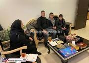 سورپرایز علی دایی برای کودکان داغدار پرواز اوکراین/عکس