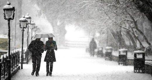 کدام مناطق کشور بارش برف و باران خواهند داشت؟