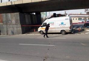 حادثه پل آزادگان تلفات جانی نداشت+تصویر