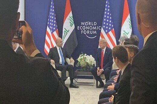 دفتر ریاست جمهوری عراق درباره محتوای دیدار «صالح» و«ترامپ» توضیح داد