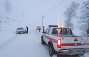 برف ۴۵ روستای سپیدان را محاصره کرد