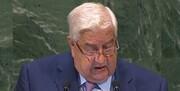 دمشق شایعات درگذشت ولید المعلم را تکذیب کرد