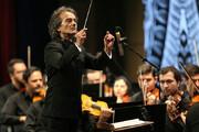 ببینید | اجرای زیبای ارکستر سمفونیک تهران پس از اخراج منوچهر صهبایی به خاطر توهین سیاسی به شهداد روحانی
