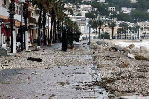 ببینید | این طوفان  وحشتناک در اسپانیا ۱۱ نفر را کشت