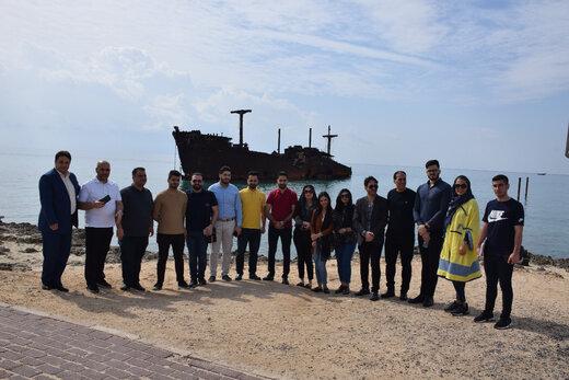 بازدید تور اپراتورهای فعال اقلیم کردستان عراق از جزیره زیبای کیش
