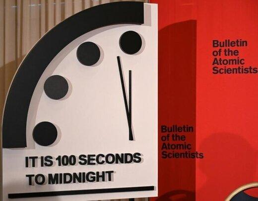 ساعت آخرالزمان به نیمه شب نزدیکتر شد!