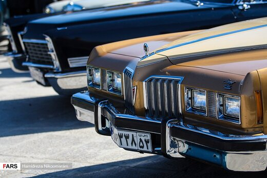همایش خودروهای تاریخی در اصفهان