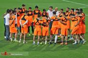 تصاویر | استقلالیها اینگونه برای بازی مهم با الکویت آماده شدند