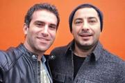 نوید محمدزاده و هوتن شکیبا همبازی شدند