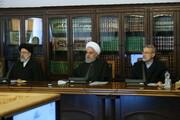 تصویری از سران قوا در جلسه شورای عالی هماهنگی اقتصادی