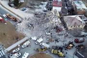 فیلم | تصاویر هوایی از شهر زلزله زده الازیغ ترکیه